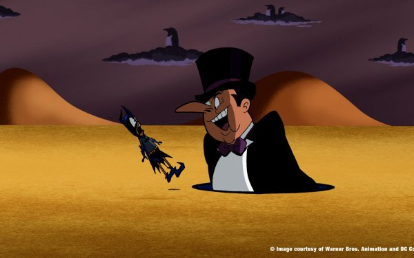 TV Show Batman: The Brave And The Bold Batman Penguin Bat Mite HD Wallpaper   Background Image