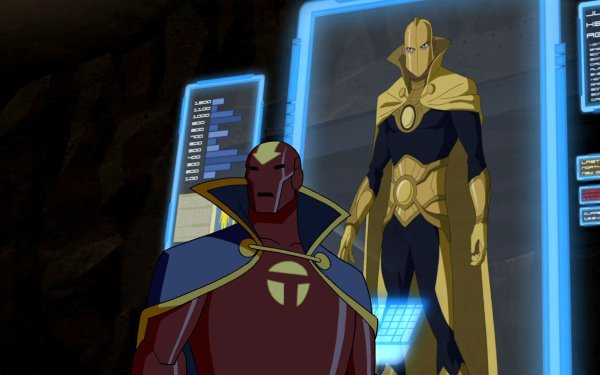 TV Show Young Justice Doctor Fate Red Tornado HD Wallpaper | Background Image