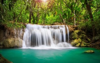 Erde - Wasserfall Wallpapers and Backgrounds ID : 468561