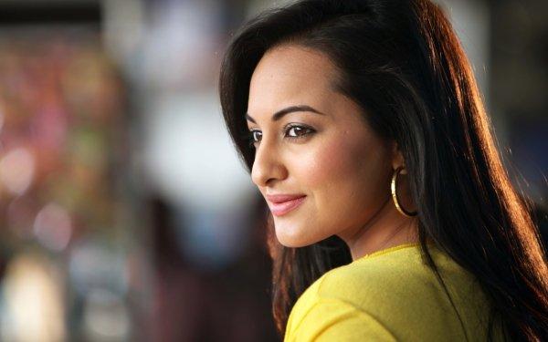 Kändis Sonakshi Sinha Skådespelerskor Indien Actress Bollywood HD Wallpaper | Background Image
