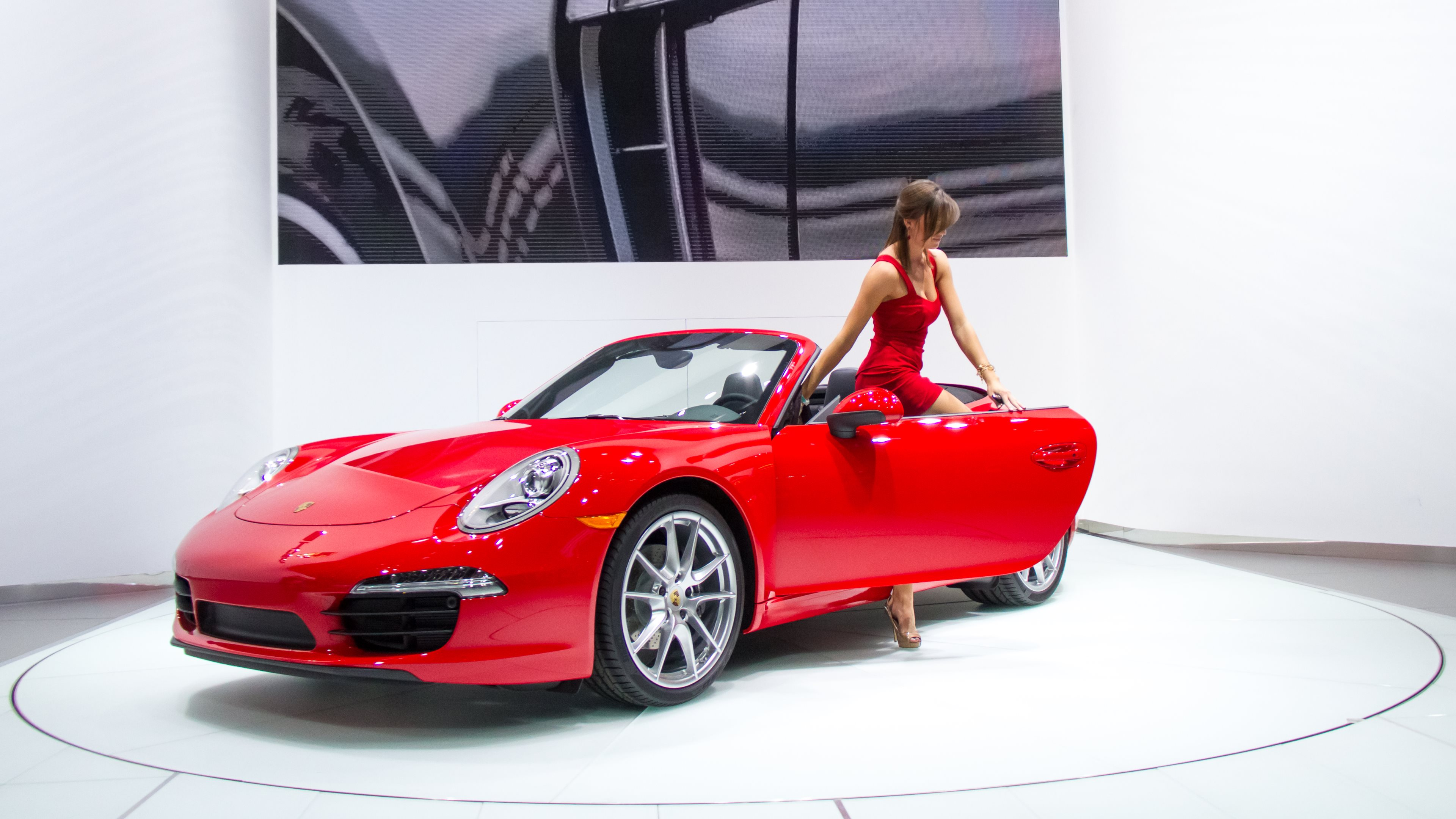 1 Red Porsche Hd Wallpapers Background Images