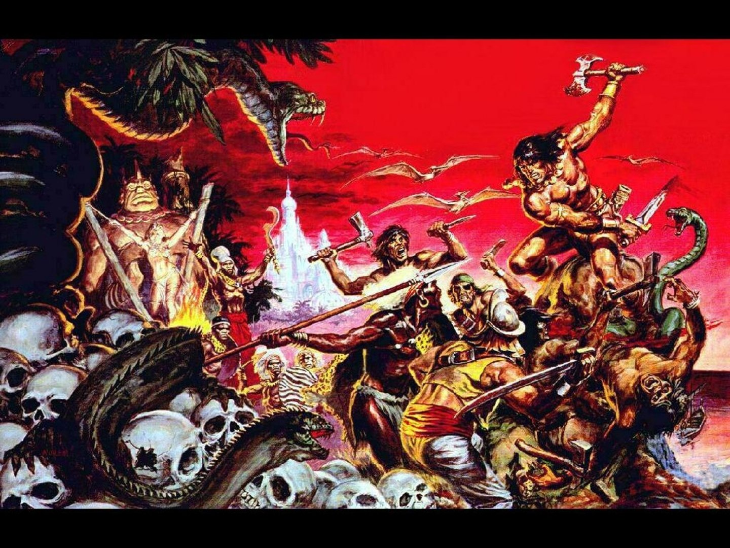 Conan The Barbarian Wallpaper And Background Image