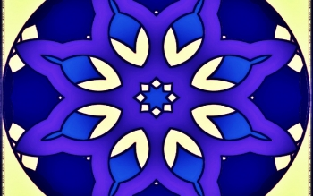 Abstract - Fractal Mandala Wallpapers and Backgrounds ID : 469055