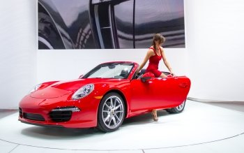 Vehicles - Red Porsche Wallpapers and Backgrounds ID : 469452