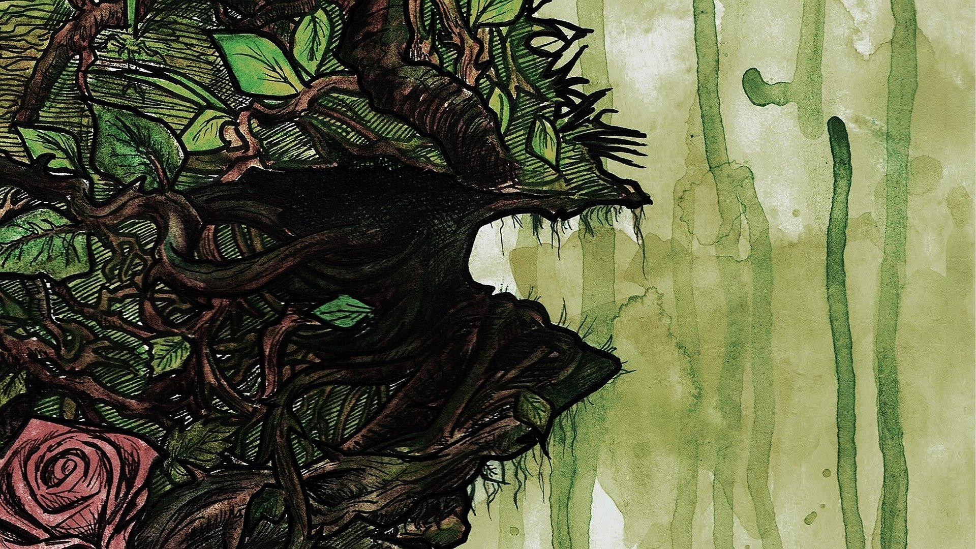 Swamp Thing Hd Wallpaper Background Image 1920x1080 Id 470529 Wallpaper Abyss
