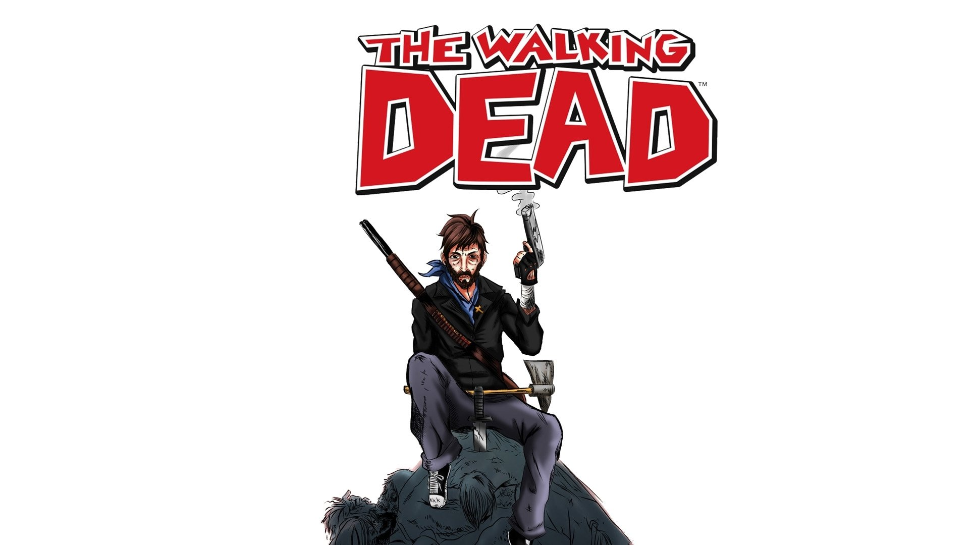 The Walking Dead HD Wallpaper   Background Image ...