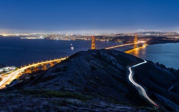 Man Made Golden Gate Bridges San Francisco HD Wallpaper | Background Image