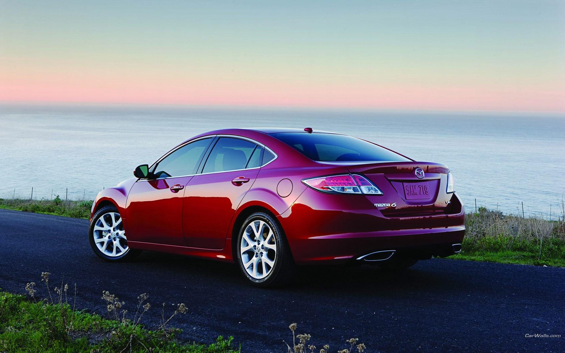 Mazda 6 sedan - фоны и обои машины