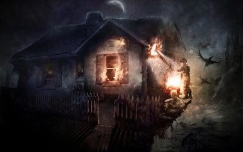 Dark - House Wallpapers and Backgrounds ID : 472771