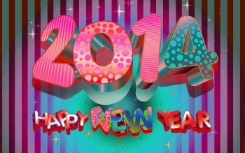 Holiday - New Year 2014 Wallpapers and Backgrounds ID : 472950