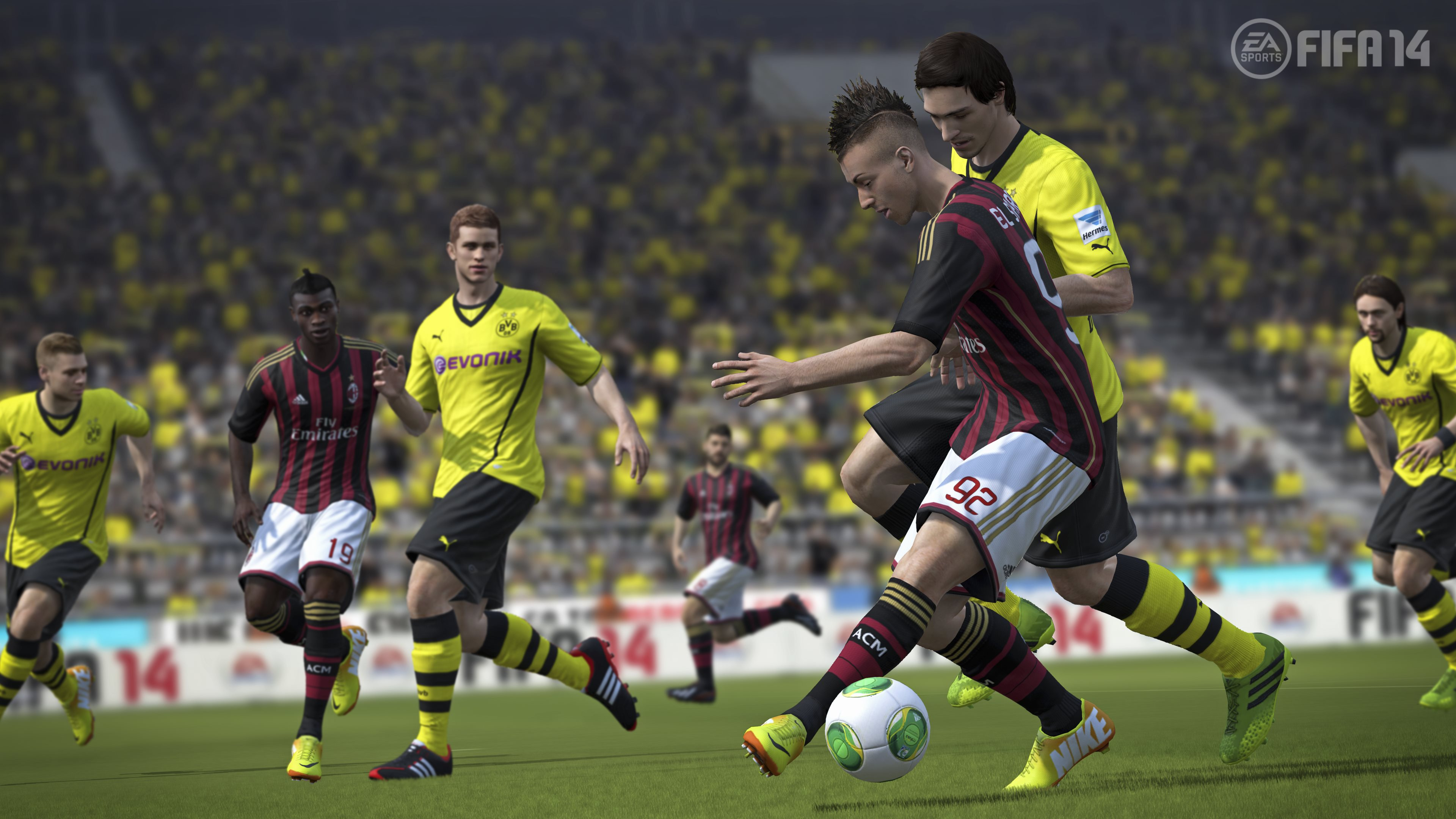 Fifa 14 4k ultra hd wallpaper and background image 3840x2160 id video game fifa 14 fifa14 wallpaper voltagebd Images