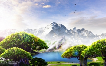Fantasy - Landschaft Wallpapers and Backgrounds