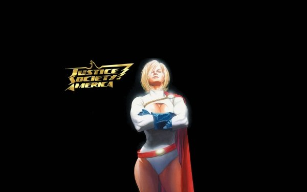 Comics Justice Society of America Justice League Power Girl HD Wallpaper   Background Image