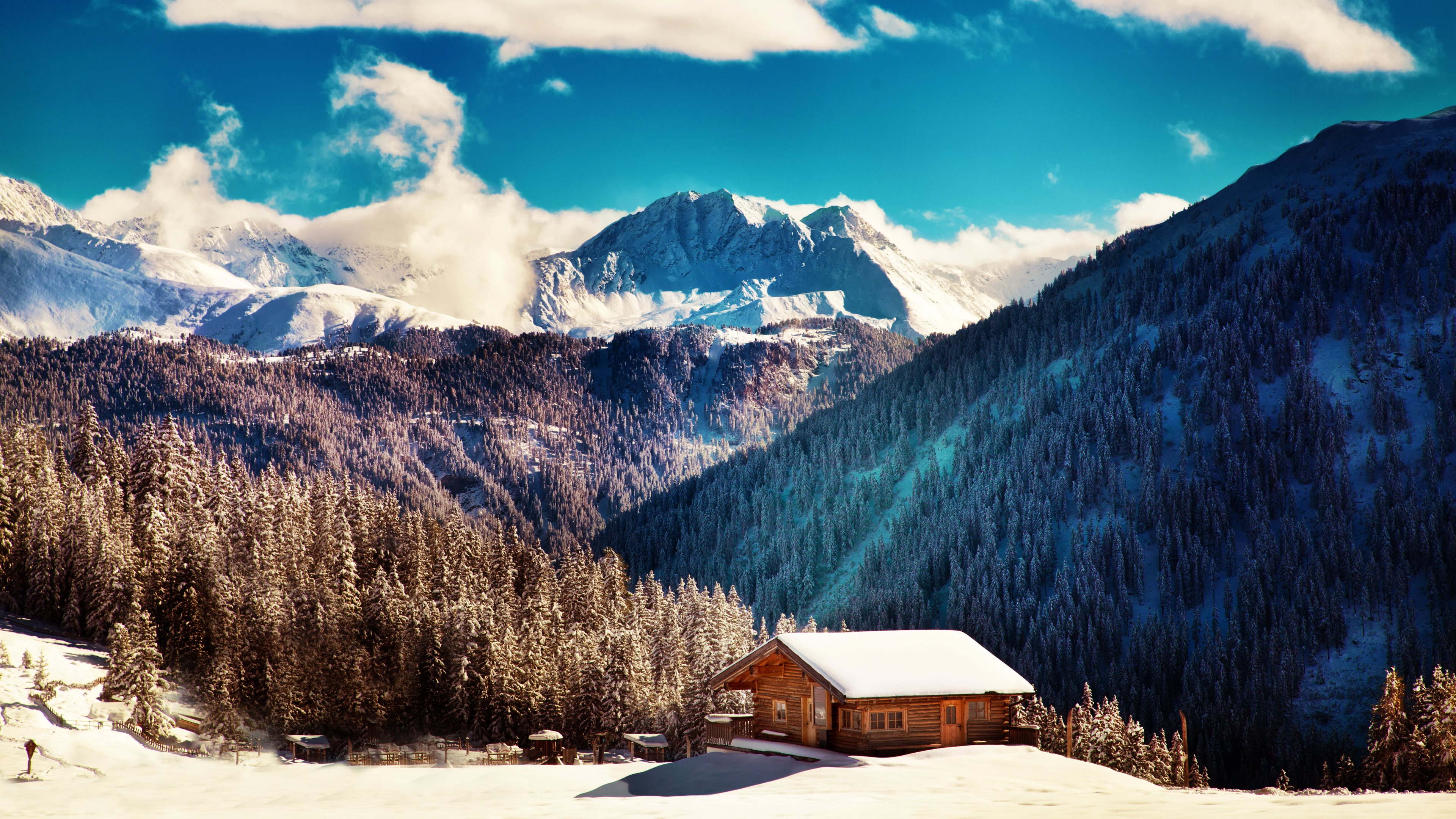 277 Cabin Hd Wallpapers Backgrounds Wallpaper Abyss