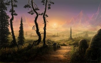 Fantasy - Landscape Wallpapers and Backgrounds ID : 476126
