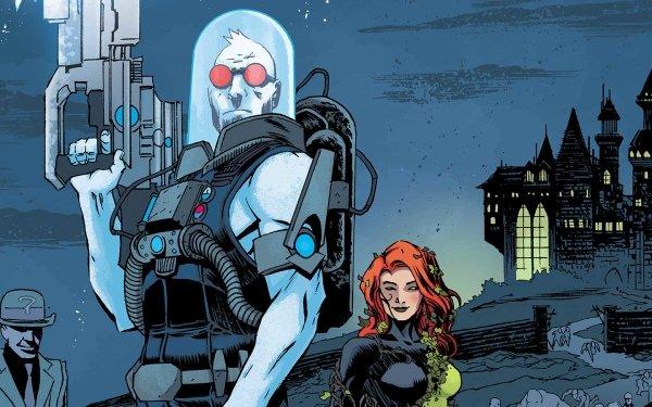 Comics Forever Evil: Rogues Rebellion Riddler Poison Ivy Mr. Freeze HD Wallpaper | Background Image