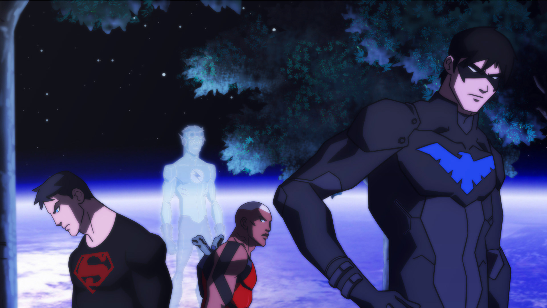 young justice computer wallpapers desktop backgrounds