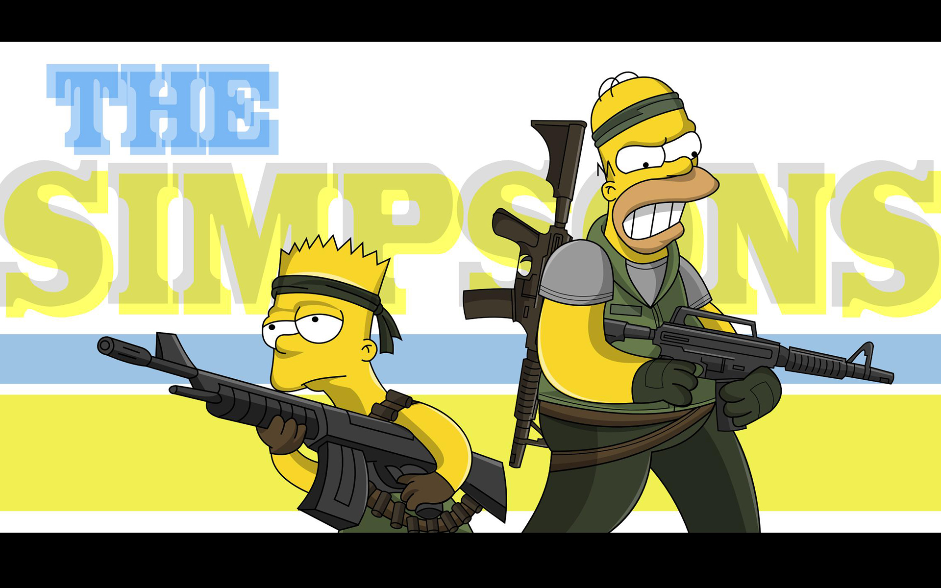The Simpsons HD Wallpaper | Background Image | 1920x1200 | ID:477574 - Wallpaper Abyss