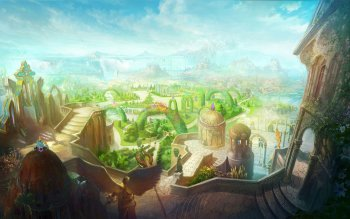 Fantasy - City Wallpapers and Backgrounds ID : 477582