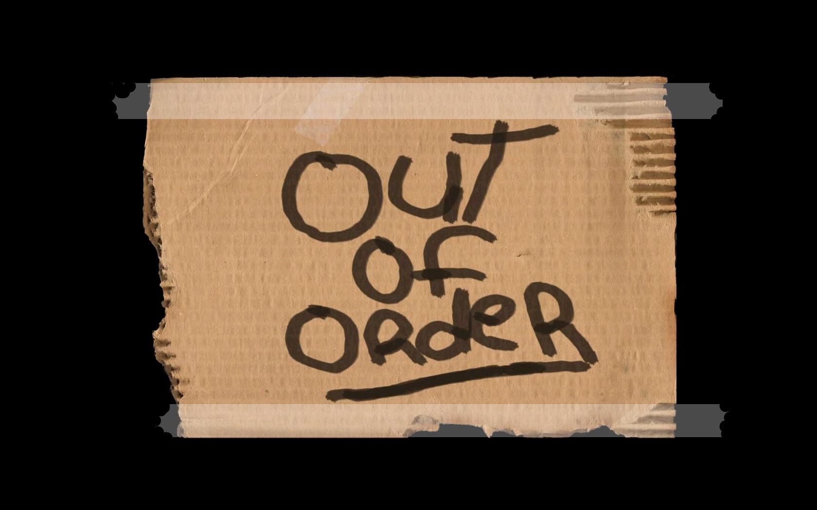 Out Of Order Wallpaper And Background Image 1680x1050