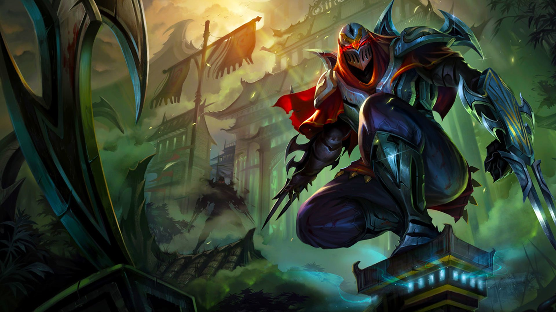 71 Zed League Of Legends Hd Wallpapers Background Images