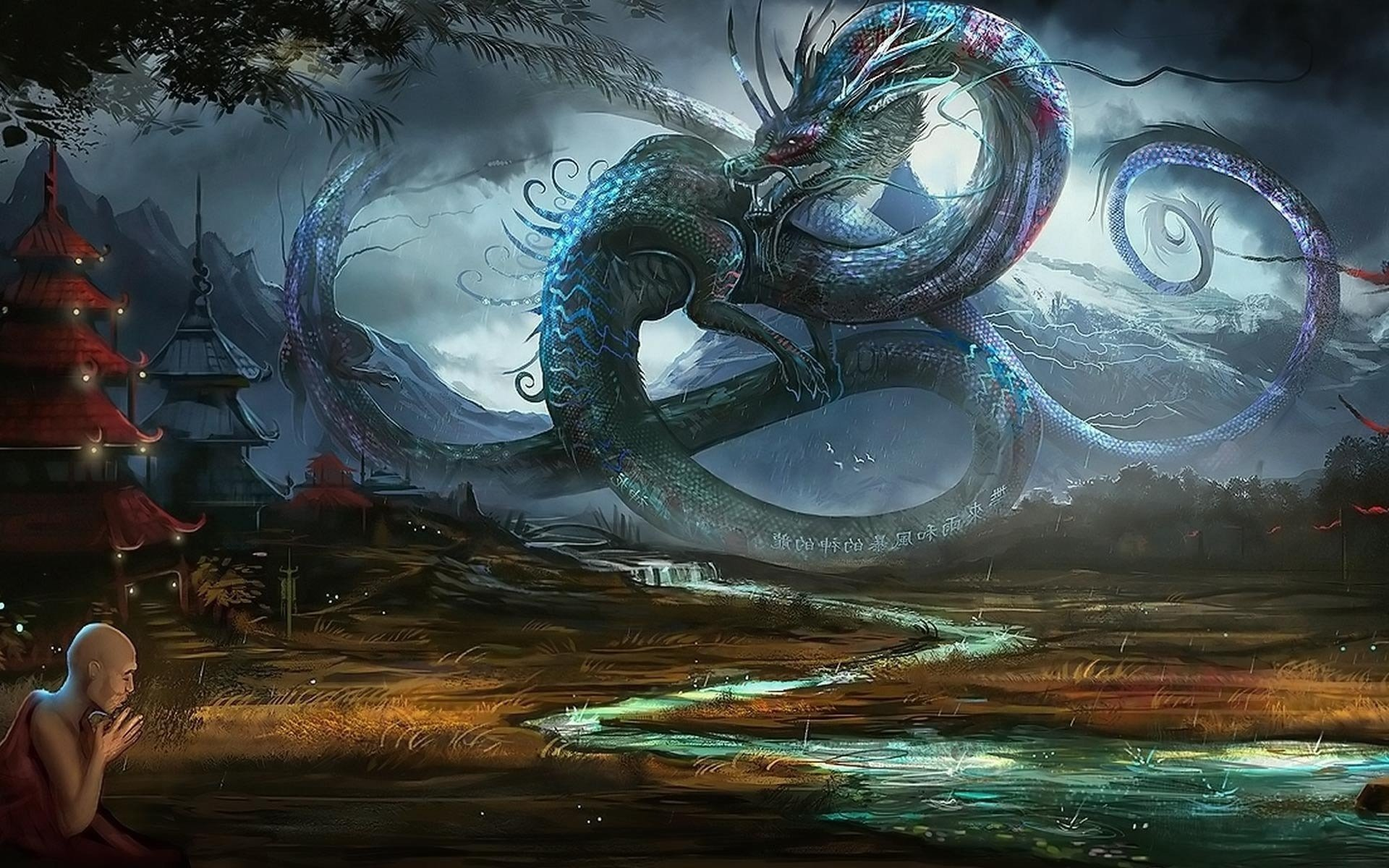 Dragon full hd wallpaper and background image 1920x1200 - Ancient chinese art wallpaper ...
