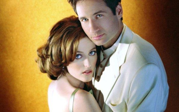 Celebrity Actor Gillian Anderson David Duchovny HD Wallpaper | Background Image