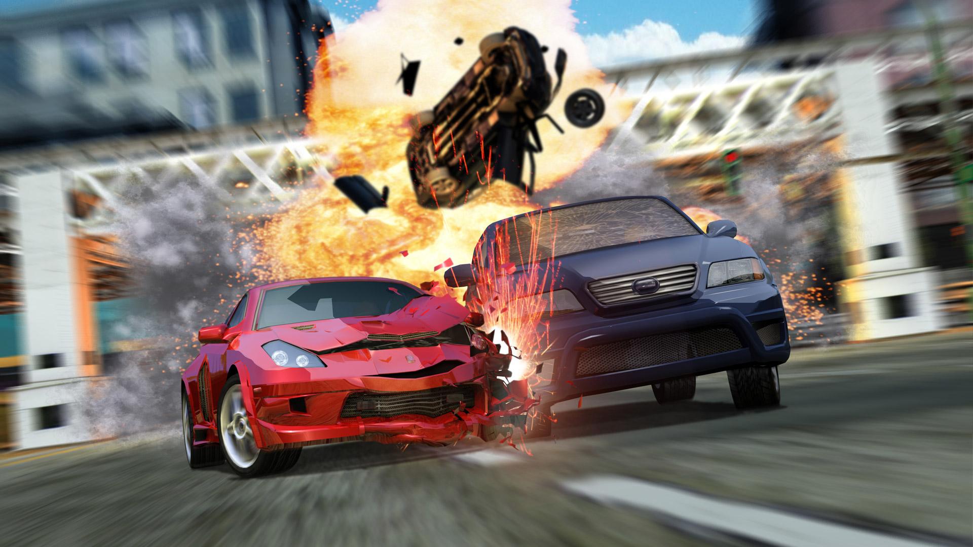5 Burnout 3: Takedown HD Wallpapers