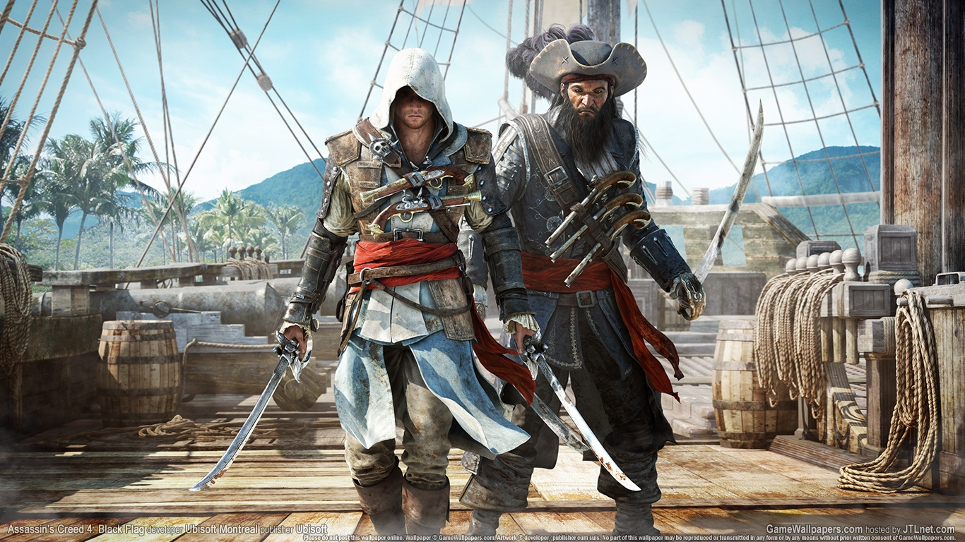 assassins creed 4 black flag Wallpaper and Background Image   1366x768   ID:481260  assassins creed...