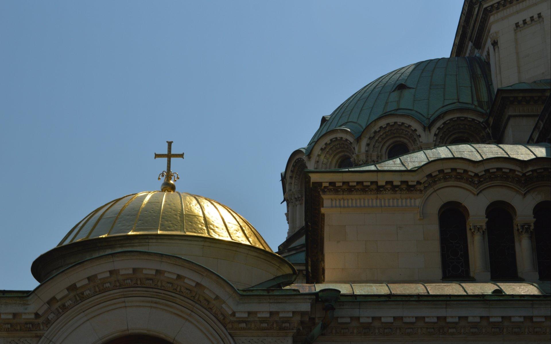 Religijne - Alexander Nevsky Cathedral, Sofia  Tapeta