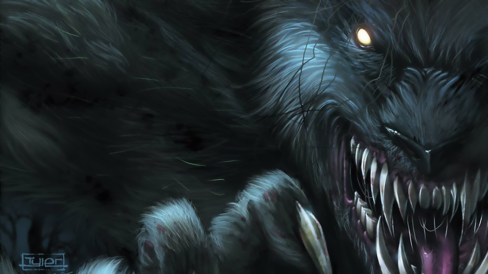 Grimm Fairy Tales Werewolves Full HD Wallpaper And Background Image