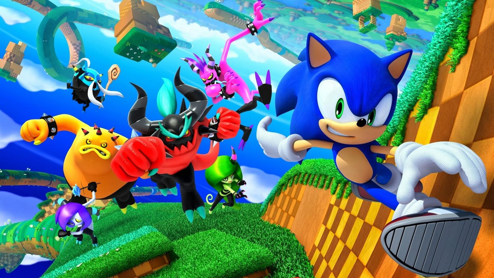 Sonic Lost World Full HD Fondo de Pantalla and Fondo de