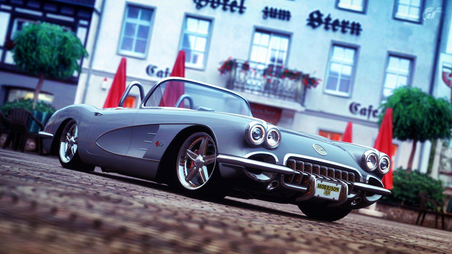 Chevrolet Corvette Hd Wallpaper Background Image 1920x1080 Id
