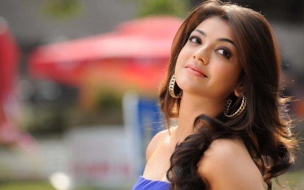 Kändis Kajal Aggarwal Skådespelerskor Indien Actress Bollywood Brunette HD Wallpaper | Background Image