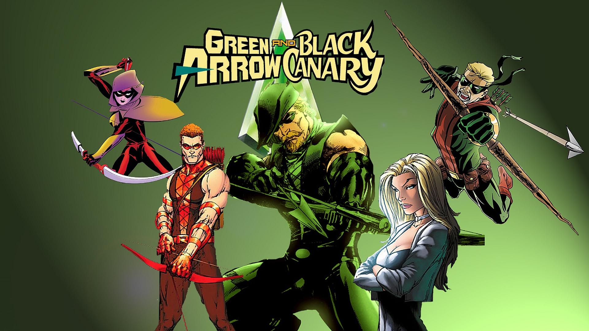CW Arrow Wallpaper
