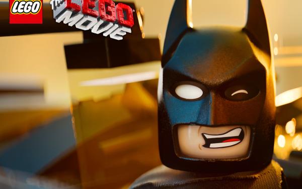 Movie The Lego Movie Lego Batman Text Logo HD Wallpaper   Background Image