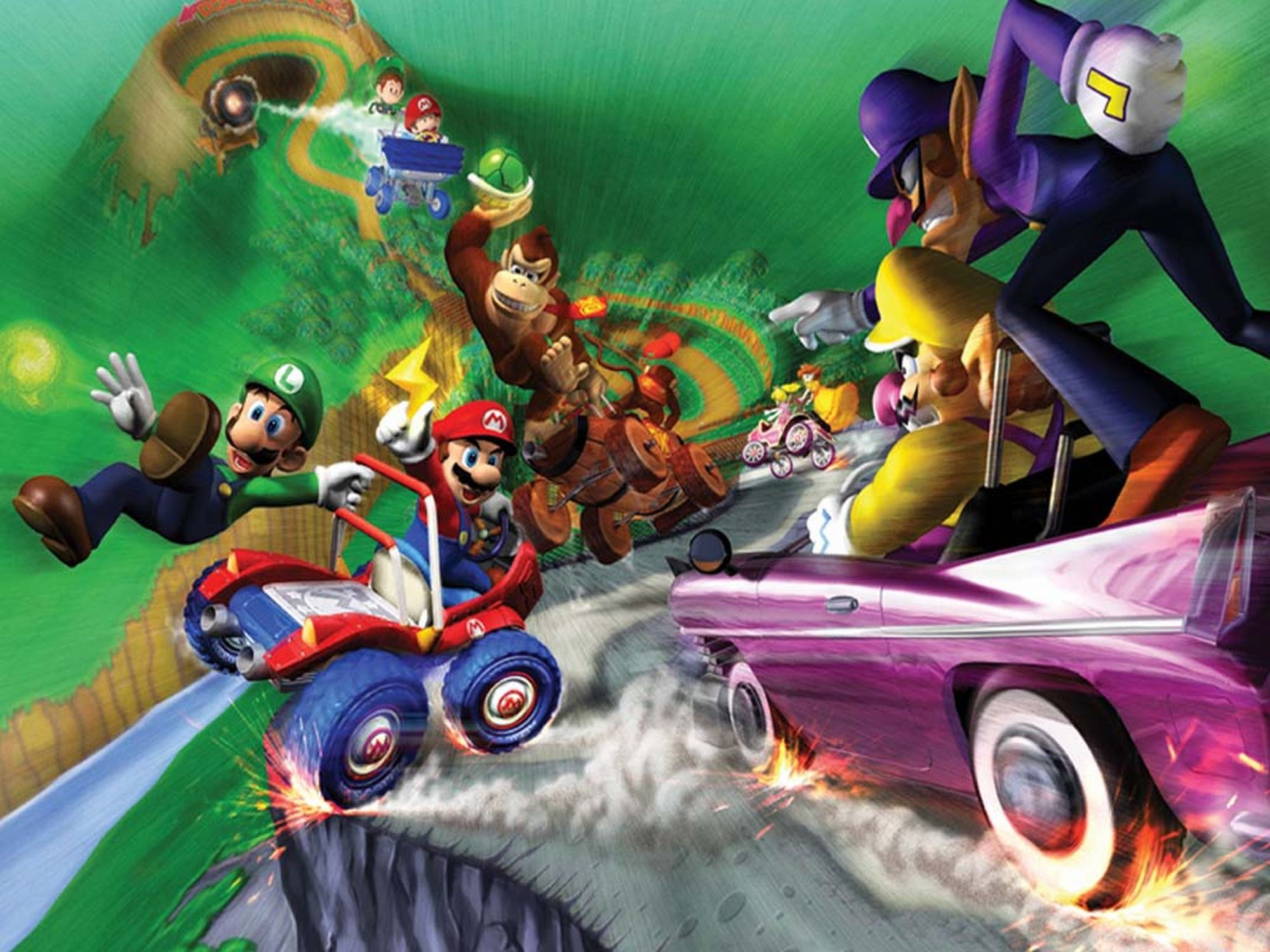 4 Mario Kart Double Dash Hd Wallpapers Background Images