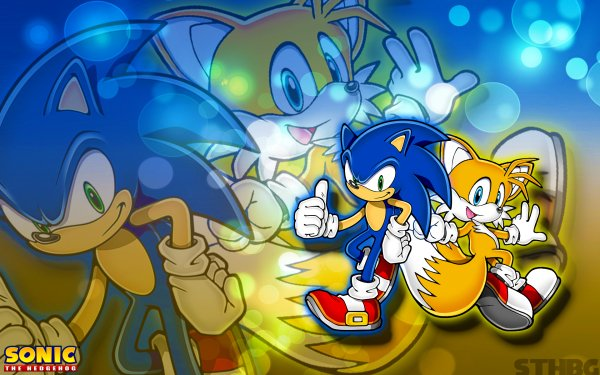 """Video Game Sonic Advance Sonic Sonic the Hedgehog Miles """"Tails"""" Prower HD Wallpaper 