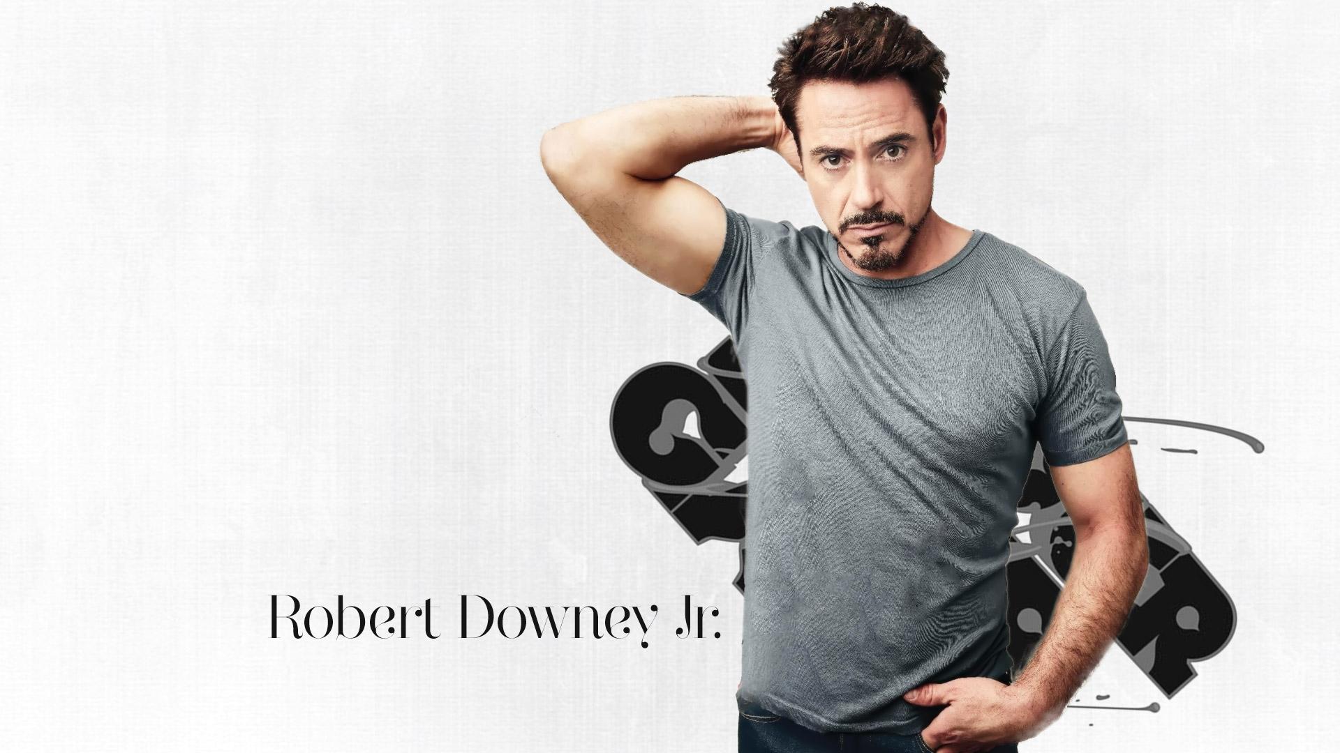 Celebrity Robert Downey Jr American Actor Wallpaper