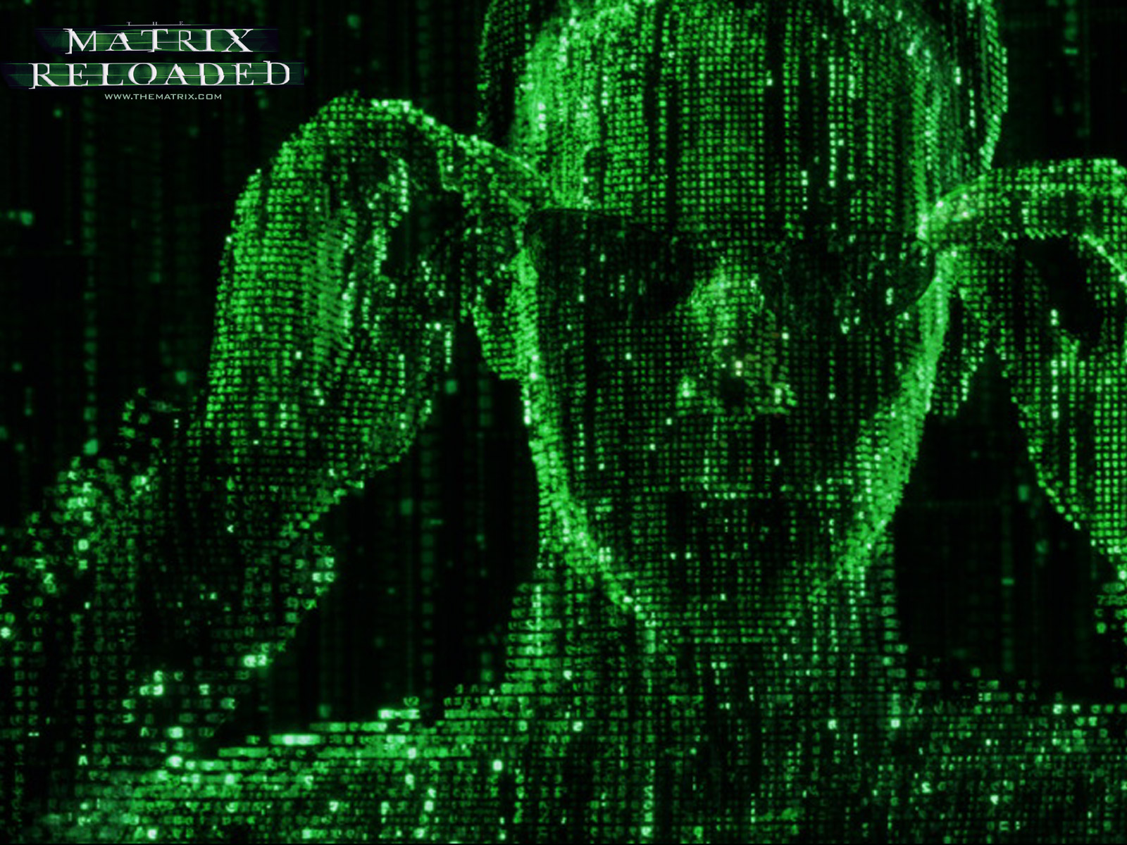 The matrix reloaded wallpaper and background image 1600x1200 id movie the matrix reloaded the matrix wallpaper voltagebd Gallery