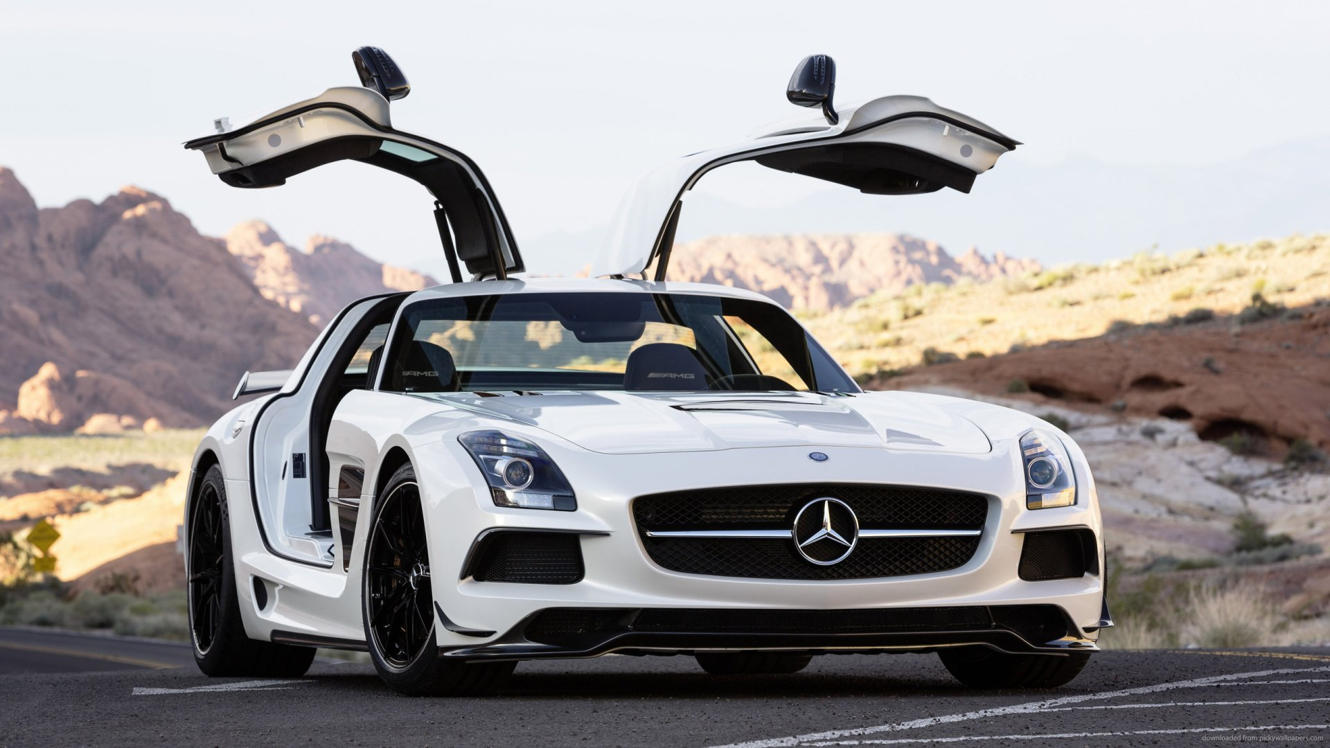 39 Mercedes Benz Sls Amg Hd Wallpapers Background Images Wallpaper Abyss