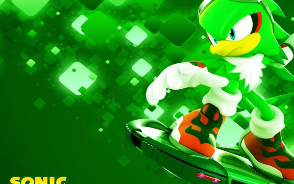 Video Game Sonic Free Riders Sonic Jet the Hawk HD Wallpaper | Background Image