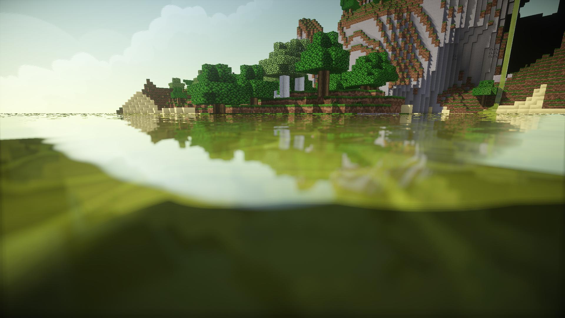 Minecraft World Hd Wallpaper Background Image 1920x1080