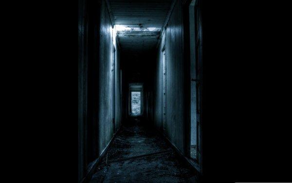 Oscuro Corridor Fondo de pantalla HD   Fondo de Escritorio