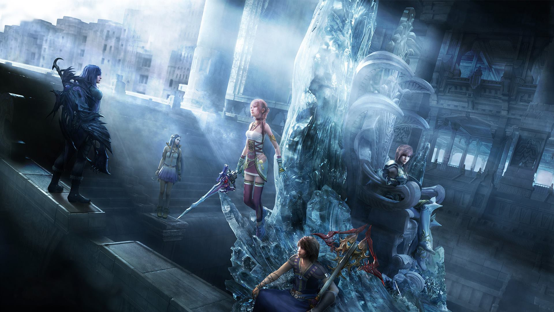 Final Fantasy Wallpapers 87 Background Pictures: Final Fantasy 13-2 HD Wallpaper