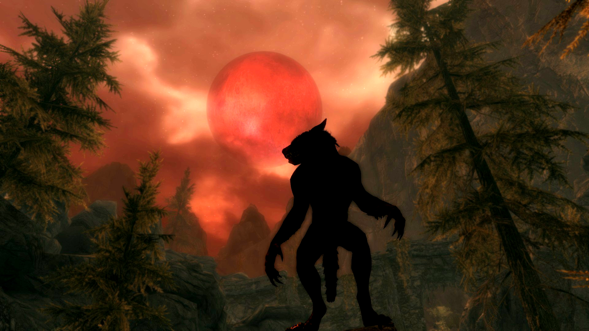 Skyrim werewolf wallpaper hd - photo#10