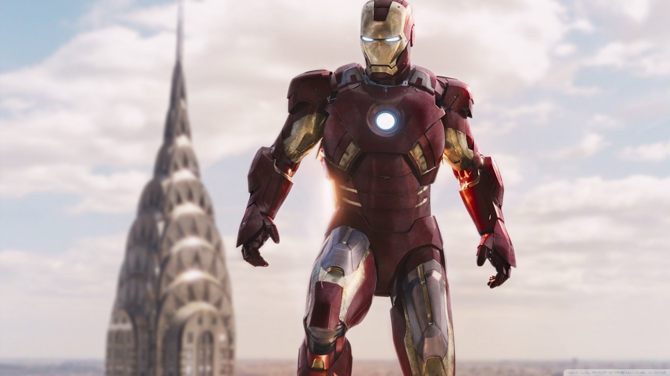 Iron Man 3 Wallpaper And Background Image 1366x768 Id 489711