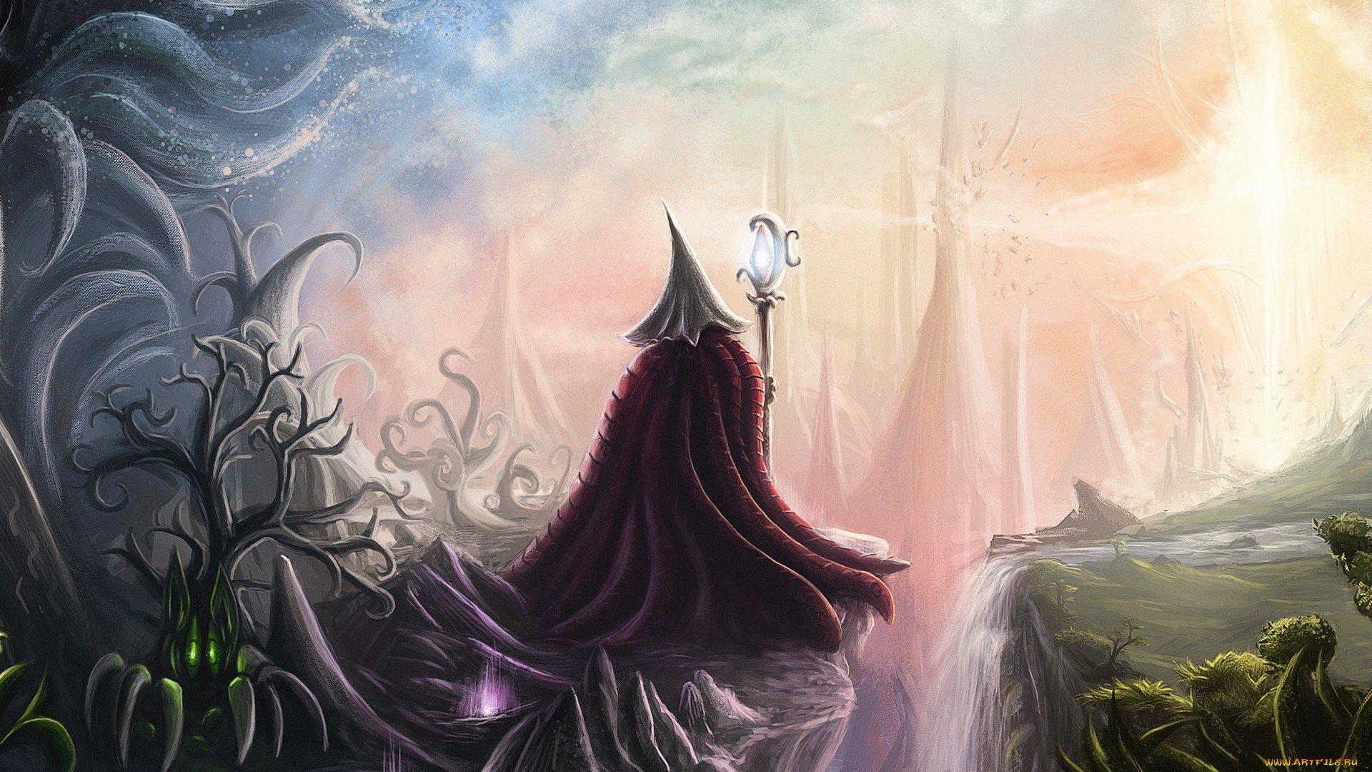 Wizard Hd Wallpaper Background Image 1920x1080 Id 489938 Wallpaper Abyss