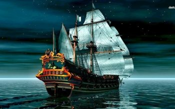 Fantasy - Ship Wallpapers and Backgrounds ID : 489263