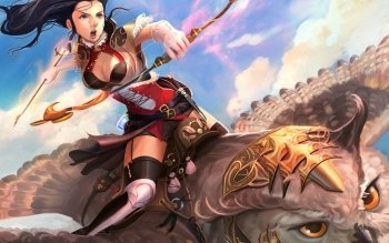 Fantasy - Women Warrior Wallpapers and Backgrounds ID : 489641